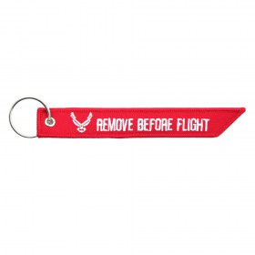 Sleutelhanger 'Remove before Flight'