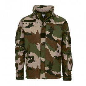 Soft Shell Tactical Jack 'French Camo'