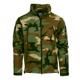 Tactical Soft Shell Jack 'Woodland'